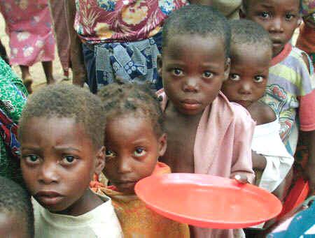La cara de la pobreza olvidada