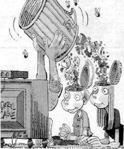 Medios de comunicación que narcotizan