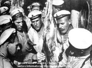 Marineros sublevados en Odessa